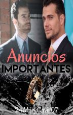 ANUNCIOS IMPORTANTES by 24Mary07