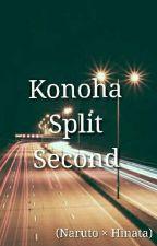Konoha Split Second (Naruto x Hinata) by VaeronA
