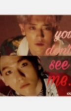 You don't see me.  {{ChanBaek  by lunatic94