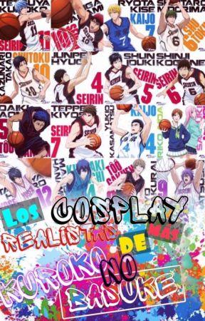 Los cosplay más realistas de Kuroko no basket by Vesicula