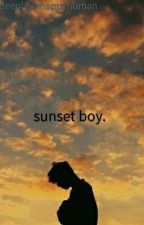 sunset boy  by deeplyunhappyhuman