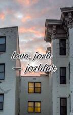 love, josh - joshler [russian translation] by qwertysorry