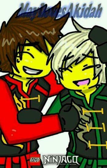 Ninjago [greenflame]kai y lloyd amor verdadero