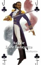 Dare/ Ask Lafayette  by -GabeIsBabe-