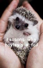 random book ➳ hayley  by lunarley