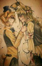 ~Just Friends Or More?~ Goldie x Springtrap (german) by Masterinayleen04