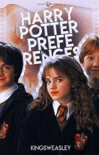 Harry Potter Preferences by baekslips