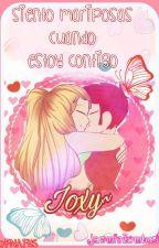 Siento mariposas cuando estoy contigo - Foxy x Joy -  #FNAFHS by TrickJZ