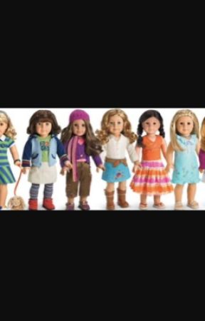 My American Girl Dolls  by carsengymnastics