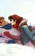 Snow Ball Fight Lance x Keith One Shot by Harharkg15