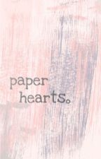 ─ paper hearts by jungay_