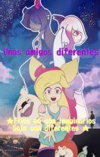 Unos amigos diferentes  by rainbow-pokechan