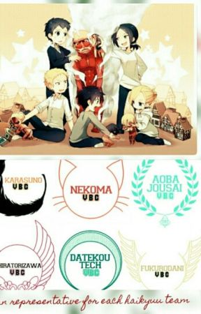 Titan representative for each haikyuu team by BadFemaleTitan