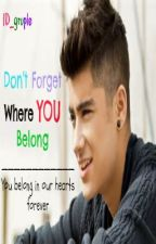 Don't Forget Where You Belong (One Direction Fan Fiction) *On Hiatus* by 1D_gruple