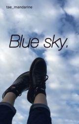 Blue sky. [vkook] by tae_mandarine