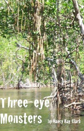 Three-eye Monsters by NancyKayClark
