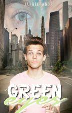 Green eyes   Larry by jarrixfabor
