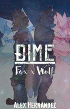 Dime (Fox x Wolf) by AlexUniverseCx