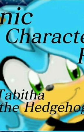 Sonic Character Rp Book by Tabitha_the_Hedgehog