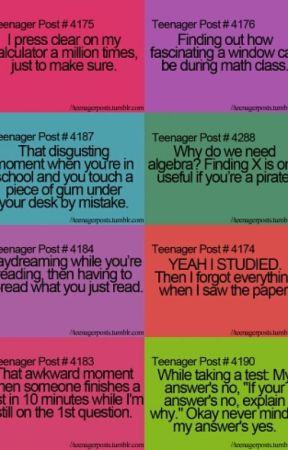 teenager posts - Class - Wattpad