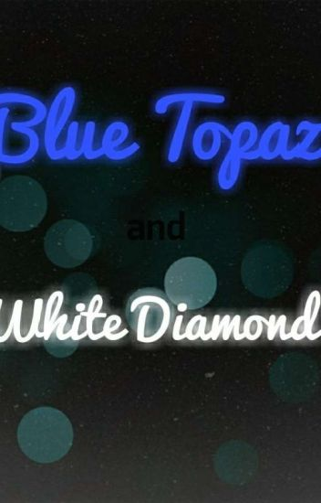 Blue Topaz and White Diamond