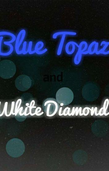 Blue Topaz and White Diamond