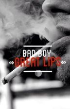 Bad boy, Great lips//h.s. by _vogue_please