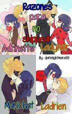Razones para no shippear Adrinette, Ladynoir, Marichat y Ladrien by darknightmare69
