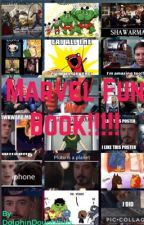 Marvel Fun Book!!!!!!  by DolphinDoughnuts