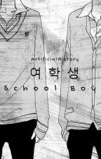 school boy | vkook by artificialhistory