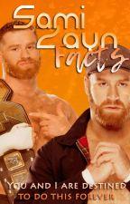 Sami Zayn Facts『WWE』 by _Fkxlu
