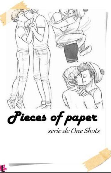   Pieces of Paper   Serie de One Shots - { Larry Stylinson }