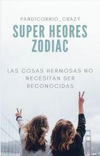 SUPER HEROES ZODIAC by Laura-Cordero