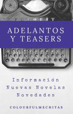 Adelantos, teasers y comunicados by colourfulmechitas