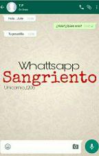 Whattsapp sangriento by andrea-sofia120604