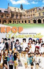 """K-POP University"" {HIATUS} by KVstyles"