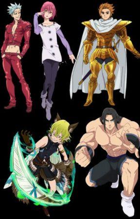 Nanatsu no Taizai Male Characters X Reader - Neko Ban X Neko Reader