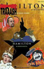 TRAAASHMILTON (Shitpost de Hamilton)  by HeronDrawFactory