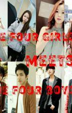 THE FOUR GIRL'S MEETS THE FOUR BOYS by EuniceJoyceOctavioDu