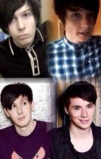 Dan and Phil Imagine (Danisnotonfire and AmazingPhil) by LostInMyStereo