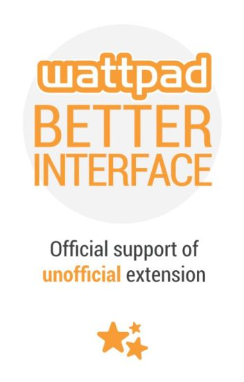 Wattpad Better Interface - Unofficial extension
