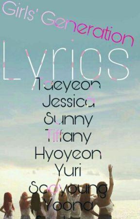 Girls' Generation Lyrics - Genie - Wattpad