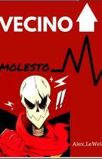 Vecino molesto [Fell!Papyrus] by Alex_LeWeird