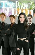 Twoja historia z bliźniakami Weasley jako siostra Harry'ego Potter'a by Julie_Juliet143