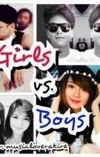 GIRLS VS. BOYS(Kathniel) by musicloverakire
