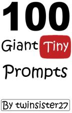 100 Giant/Tiny Prompts by twinsister27