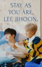stay as you are, lee jihoon. by huniejique