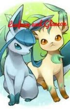 Leafeon and Glaceon by StarRuby