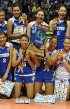 volleyball girls of ateneo..... by tinagalvez