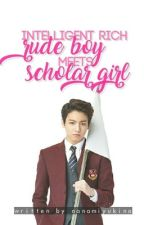 Intelligent rich rude boy meet Scholar Girl by NanamiYukinaRyugazak
